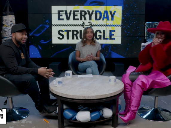 K. Michelle Stops By 'Everyday Struggle' To Talk Label Drama And Her New Album [Video]