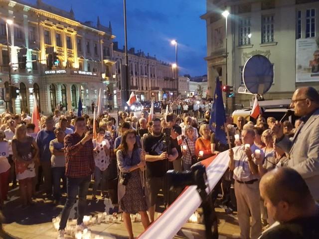 Protesty w całym kraju przeciw reformom w sądownictwie
