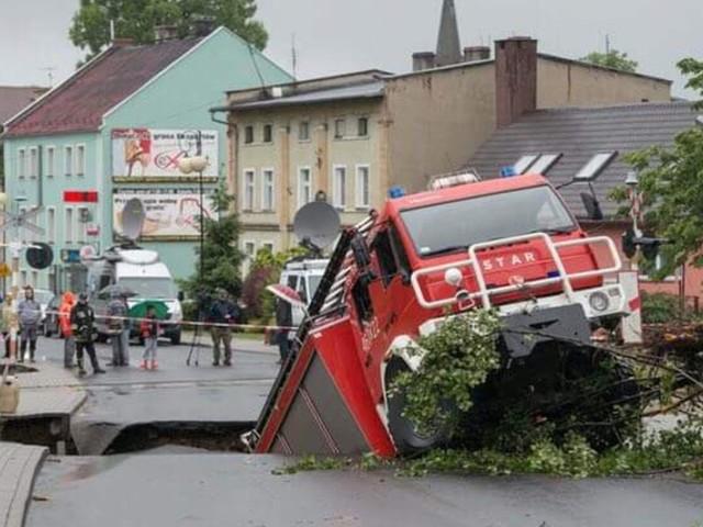 Tak wygląda południe Polski po ulewach. Dziś nie będzie lepiej