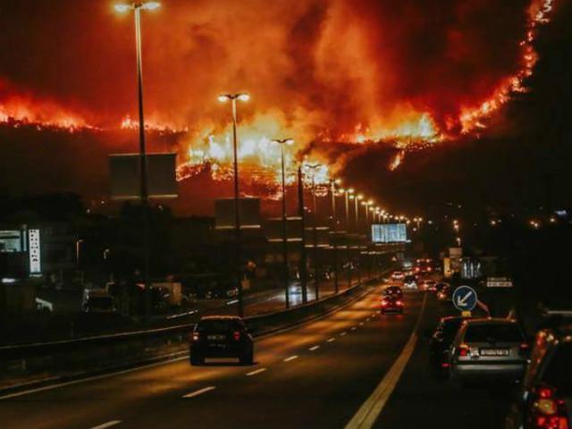 Chorwaci wciąż walczą z płomieniami. Zdjęcia wywołują poruszenie wśród internautów