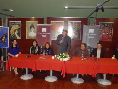 Jan Szczepański zapowiada operetkę Hrabina Marica w Krakowie
