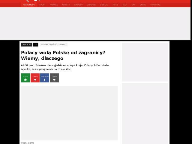 Polacy wolą Polskę od zagranicy? Wiemy, dlaczego