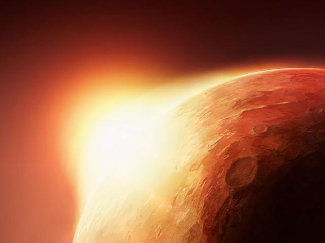 Nowa hipoteza ocieplania się powierzchni Marsa