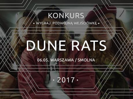 Szybki konkurs – Rozdajemy podwójne wejściówki na koncert Dune Rats