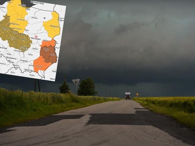 Pogoda. Ostrzeżenia IMGW przed burzami. Tu będzie groźnie
