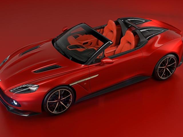 Aston Martin Vanquish Zagato Speedster - zdjęcia