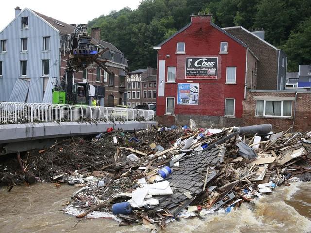 Tragiczny bilans powodzi w zachodniej Europie