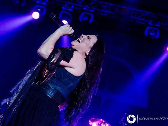 Evanescence zagrała pierwszy raz w Polsce (zdjęcia)
