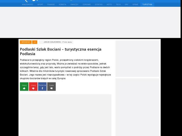 Podlaski Szlak Bociani – turystyczna esencja Podlasia