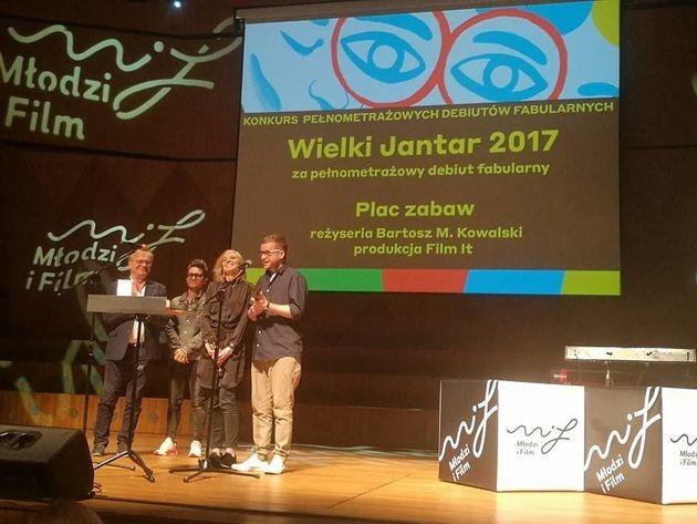 """Festiwal """"Młodzi i film"""" w Koszalinie: Wielkie Jantary rozdane!"""