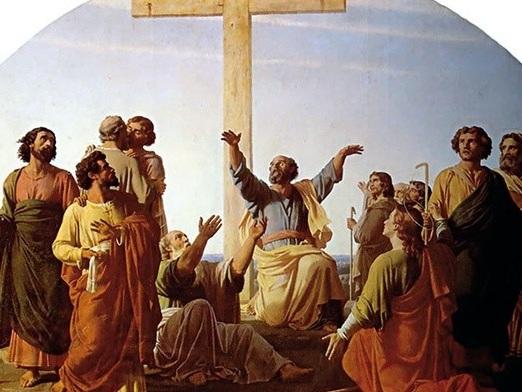 Krzyż inspiracją