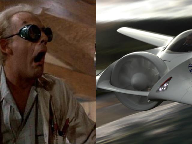 """Stworzył latający samochód. Jego krewny był konstruktorem auta znanego z filmu """"Powrót do przyszłości"""""""