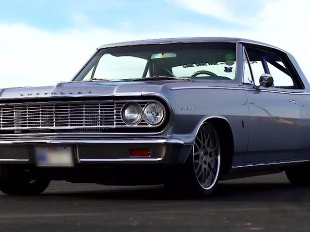 Stary Chevrolet odzyskał blask