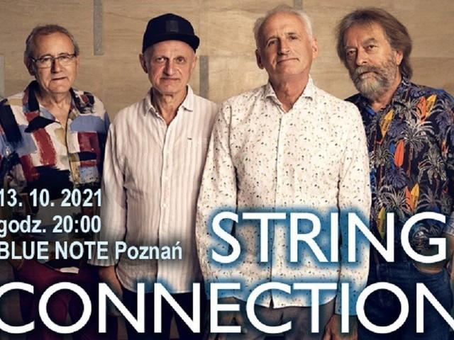 String Connection w Blue Note. Posłuchaj dzisiaj legend jazzu w Poznaniu – 13.10.2021 roku