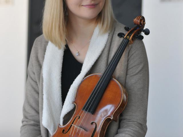 Z braku harfy wybrała skrzypce - rozmowa z Amelią Maszońską