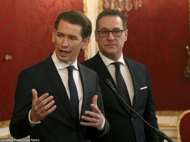 Skrajnie prawicowi politycy doszli do władzy w Austrii. Będą odpowiadać za granice, obronę i sprawy zagraniczne
