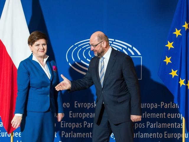 """Schulz ostro o Polsce: """"Kanclerz musi powiedzieć: nie!"""""""