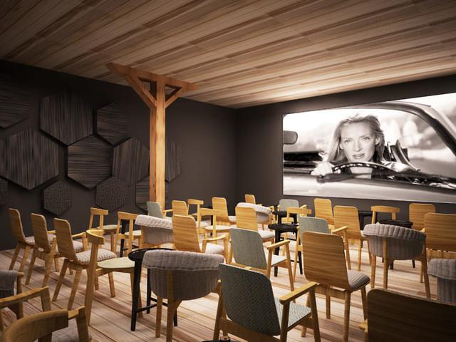 Kino Muza: Będą dwie nowe sale - film obejrzymy przy kawie i na wygodnej kanapie [WIZUALIZACJE]