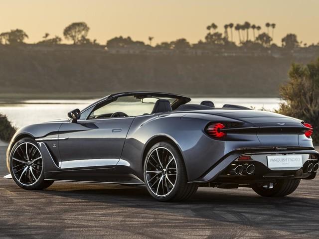 Aston Martin Vanquish Zagato Volante - zdjęcia