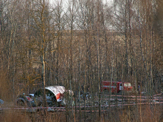 Ekshumacja ofiary katastrofy smoleńskiej koło Tarnowa