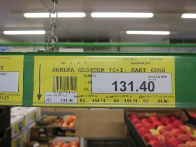 Zakazany pestycyd w polskich jabłkach w Czechach. Będzie grzywna