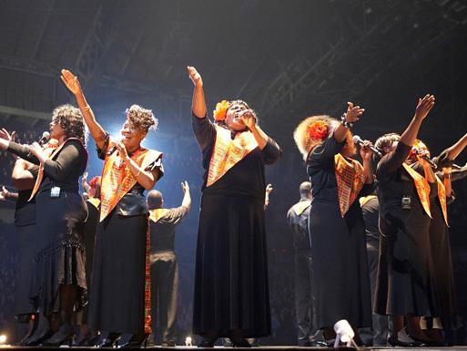 Harlem Gospel Choir znów zaśpiewa w Poznaniu