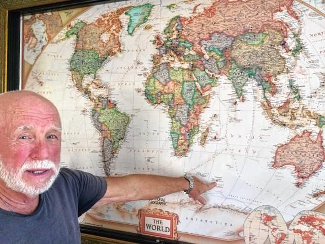 Wystrzałowy dziadek. Ma 71 lat, odwiedził 187 krajów i wciąż chce więcej