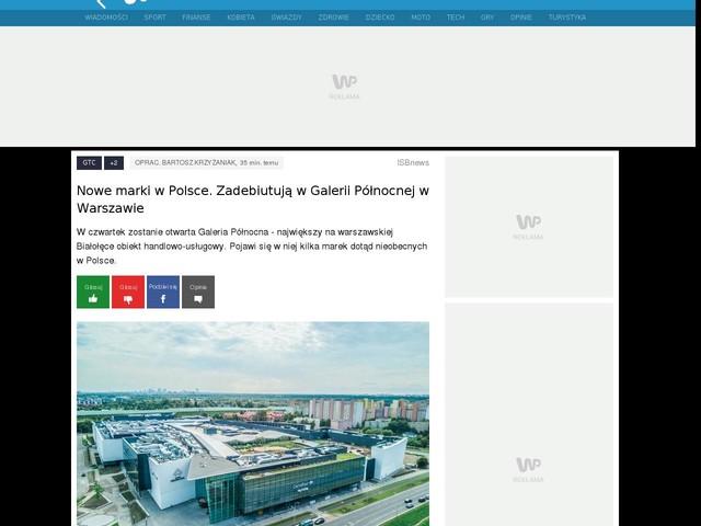 Nowe marki w Polsce. Zadebiutują w Galerii Północnej w Warszawie
