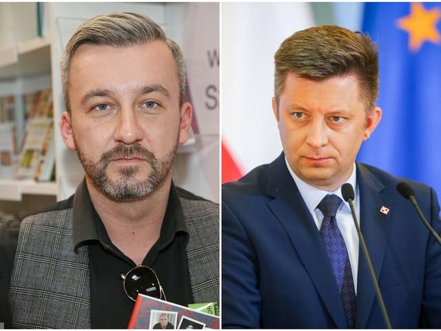 Afera mailowa. Dworczyk konsultował odpowiedź z dziennikarzem Krzysztofem Skórzyńskim?