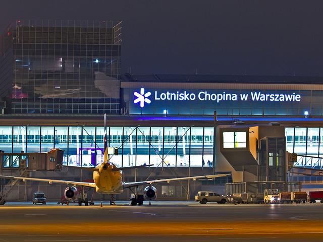 Incydent na lotnisku Chopina. Samolot uległ uszkodzeniu