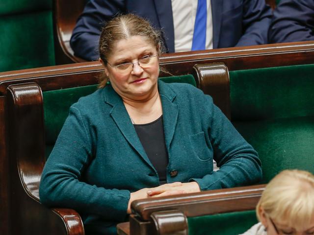 Krystyna Pawłowicz o Michale Tusku: niedaleko pada jabłko od zdradzieckiej jabłoni