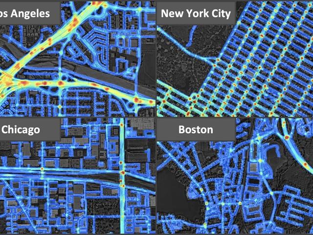 Sztuczna inteligencja przewidzi wypadki. Nowy sposób mapowania niebezpiecznych ulic miast