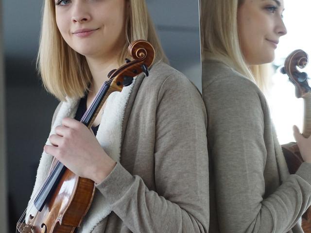 Amelia Maszońska - Szwajcaria i skrzypce