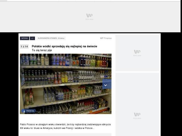 Polskie wódki sprzedają się najlepiej na świecie