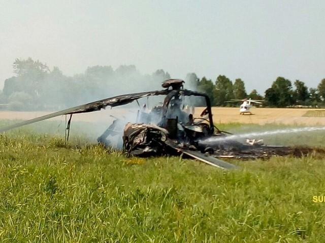 Oświadczenie włoskich sił powietrznych ws. wypadku z udziałem polskiego śmigłowca
