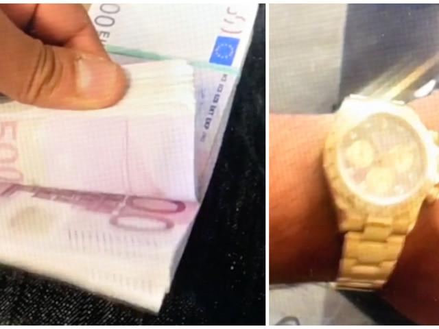 Friad gängledare får tillbaka Rolex-klockor och 443000 kronor
