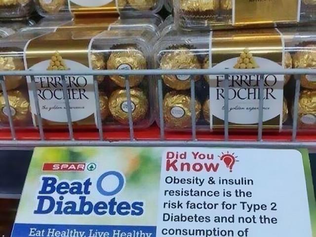Bekämpa typ 2-diabetes… med chokladpraliner?