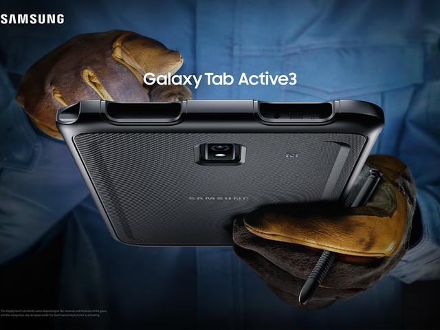 Samsung lanserar stryktåliga surfplattan Galaxy Tab Active 3