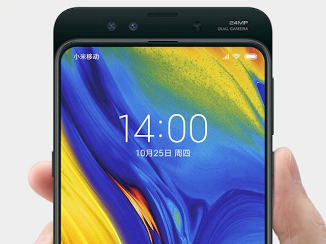 Ännu en bild på nyskapande Xiaomi Mi Mix 3