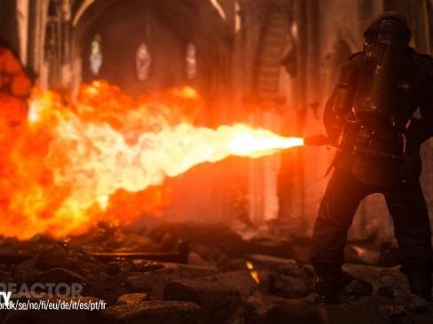 Räkna med ovanligt brutalt krig i Call of Duty: WWII