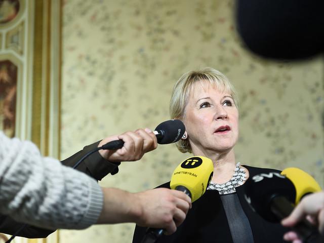 Wallström: Barbari mot rohingyafolket