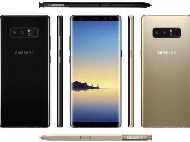 Samsung Galaxy Note 8 påstås återigen finnas i butik 15 september