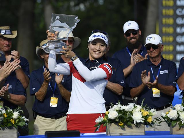 Ryu So-Yeon först att vinna två tävlingar
