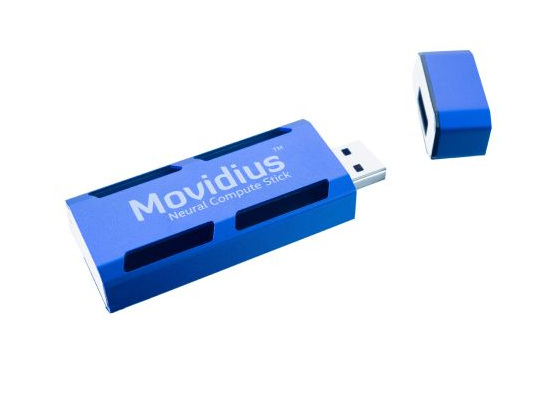 Intel lanserar AI-stickan Movidius Neural Compute Stick