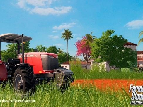 Platinum-expansionen ute nu till Farming Simulator 17