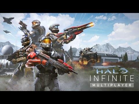 Multiplayer i Halo Infinite visas upp