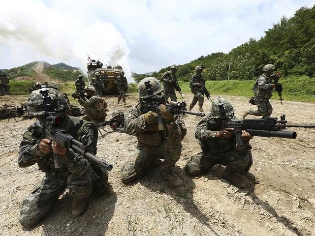 Militärövning väntad – trots ilsket Nordkorea