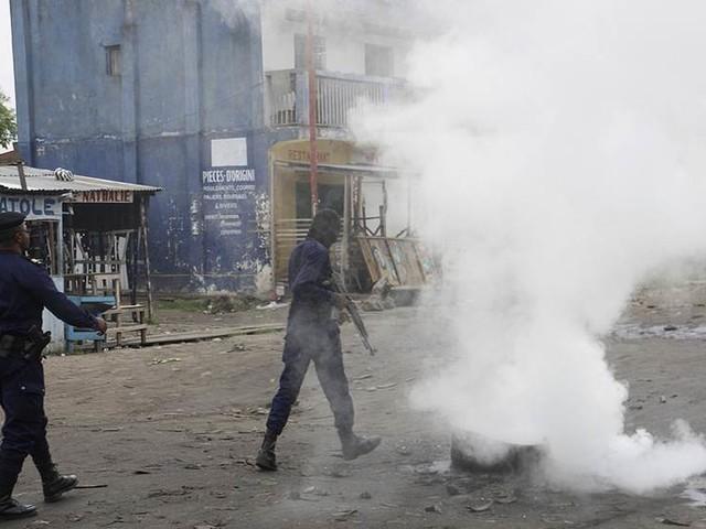 Demonstration mot Kabila förbjöds