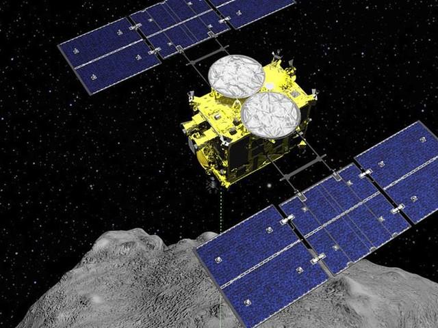 Rymdsond landar på asteroid igen