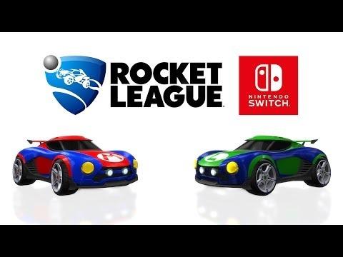 Släppdatum för Rocket League till Switch